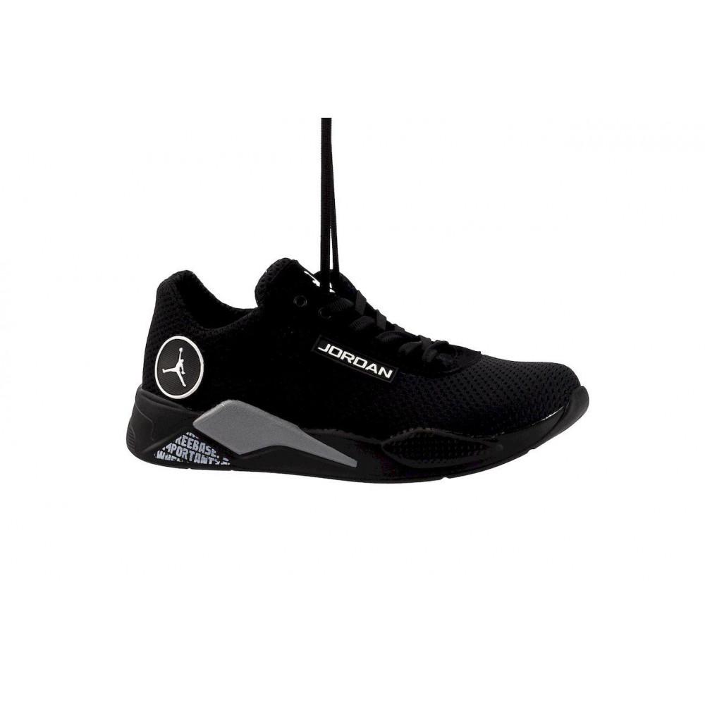 Летние кроссовки мужские - Мужские кроссовки текстильные летние черные Lions сет-JD 9