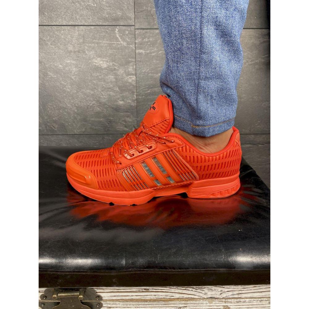 Демисезонные кроссовки мужские   - Мужские кроссовки текстильные весна/осень оранжевые Ditof A 1094 -8 5