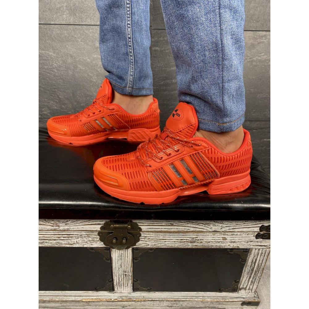 Демисезонные кроссовки мужские   - Мужские кроссовки текстильные весна/осень оранжевые Ditof A 1094 -8 4