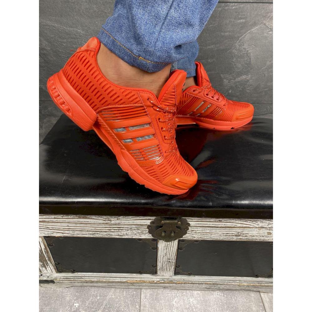 Демисезонные кроссовки мужские   - Мужские кроссовки текстильные весна/осень оранжевые Ditof A 1094 -8 3