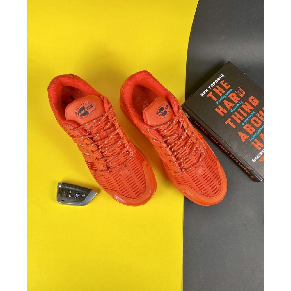Демисезонные кроссовки мужские   - Мужские кроссовки текстильные весна/осень оранжевые Ditof A 1094 -8 1