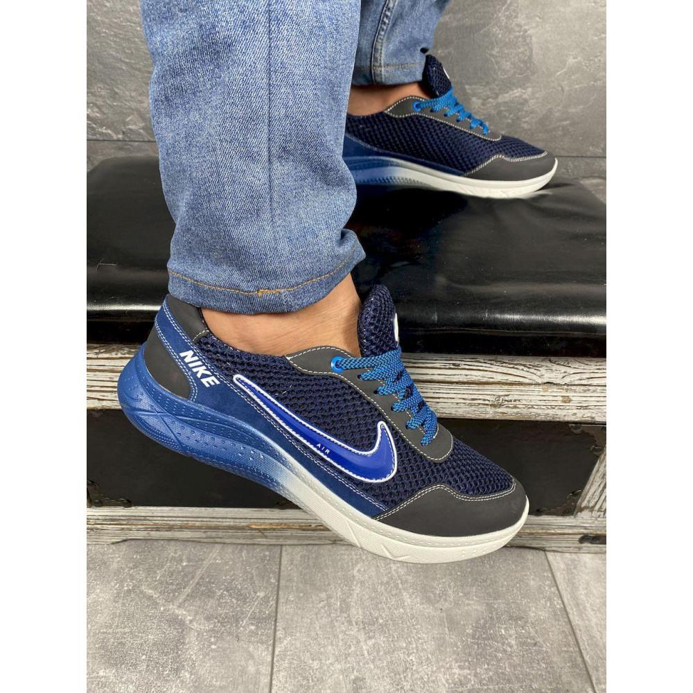 Классические кроссовки мужские - Мужские кроссовки текстильные летние черные CrosSAV 22 4