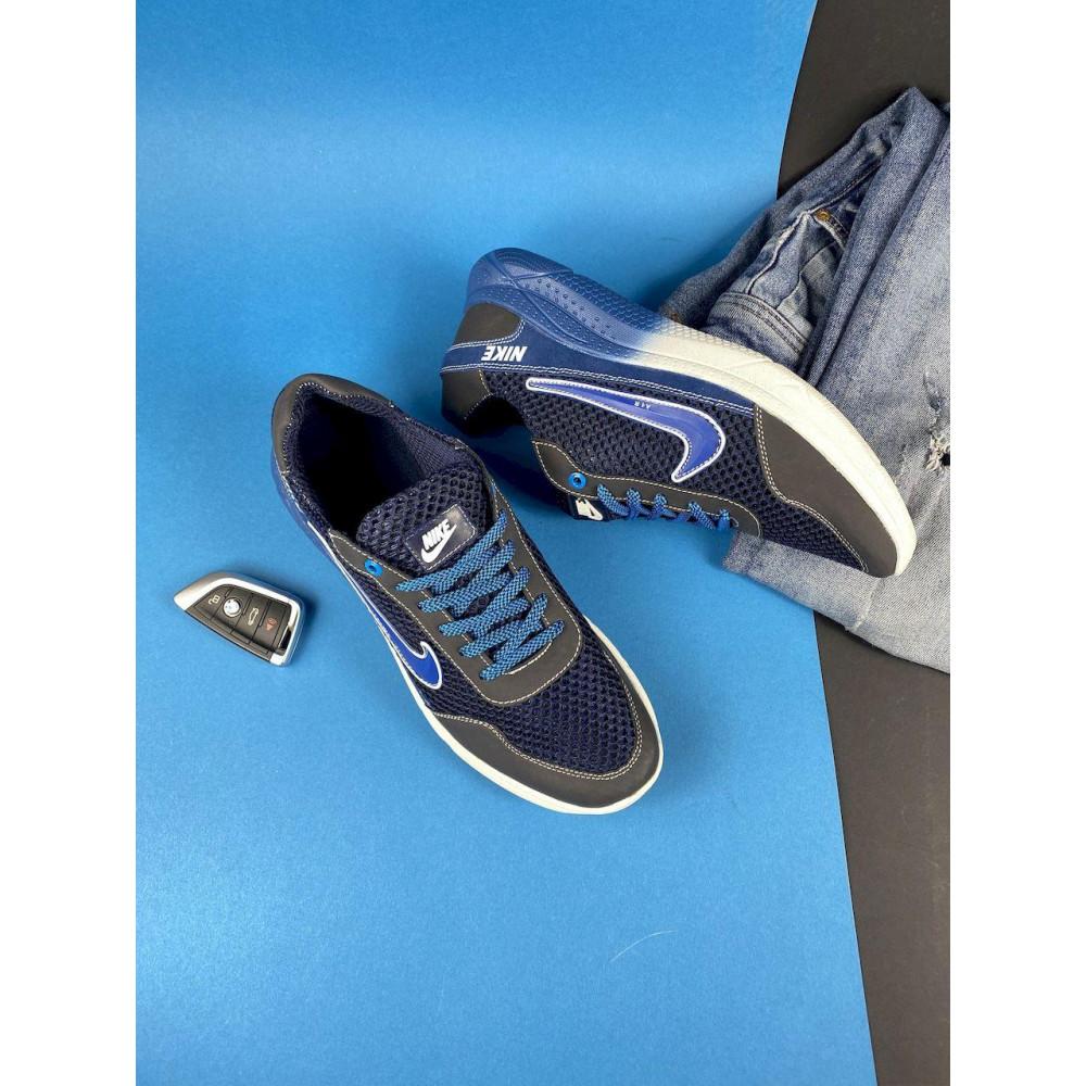 Классические кроссовки мужские - Мужские кроссовки текстильные летние черные CrosSAV 22 7