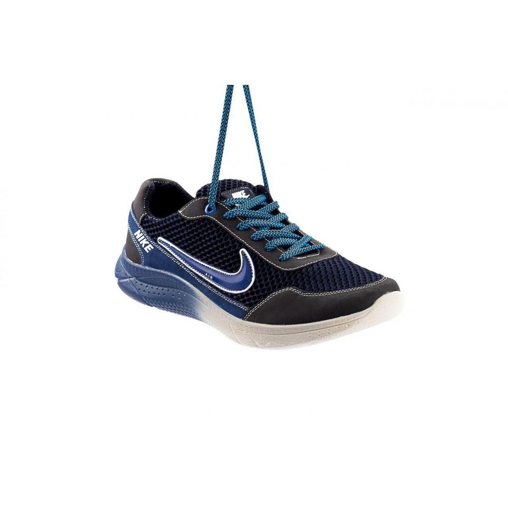 Классические кроссовки мужские - Мужские кроссовки текстильные летние черные CrosSAV 22 1