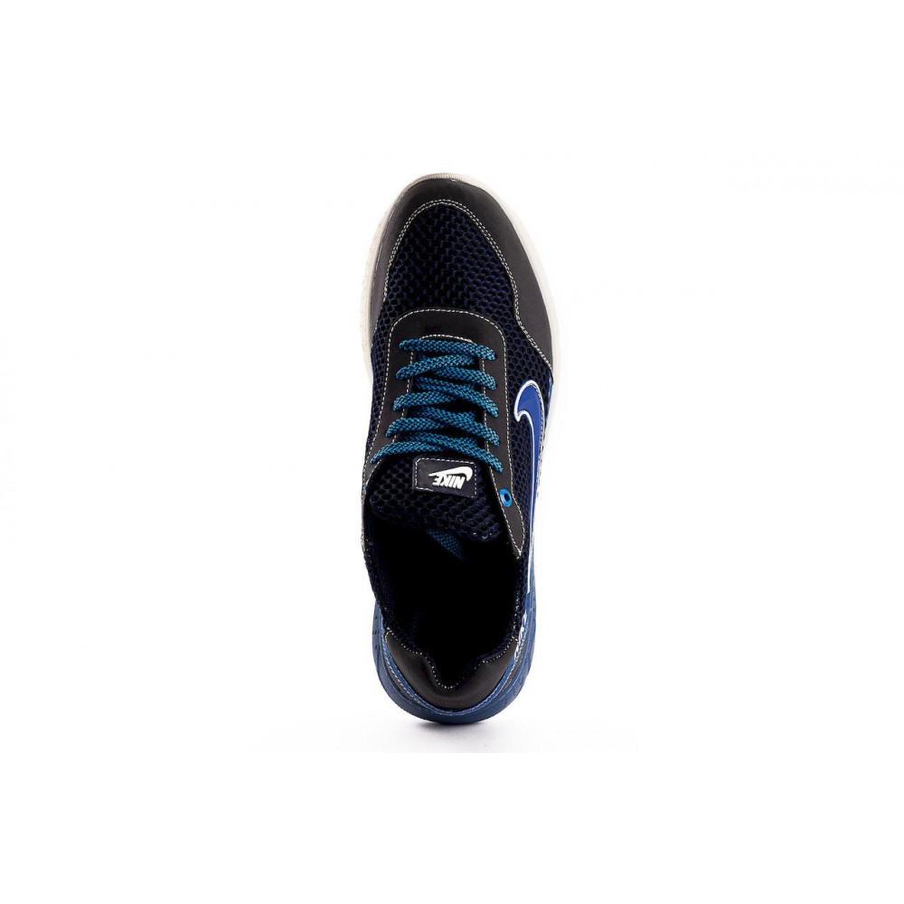 Классические кроссовки мужские - Мужские кроссовки текстильные летние черные CrosSAV 22 2