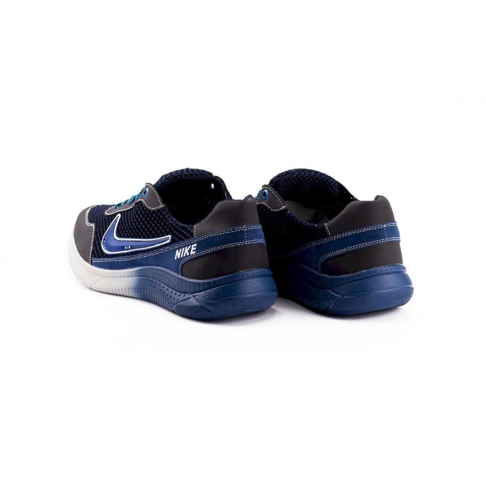 Классические кроссовки мужские - Мужские кроссовки текстильные летние черные CrosSAV 22 3