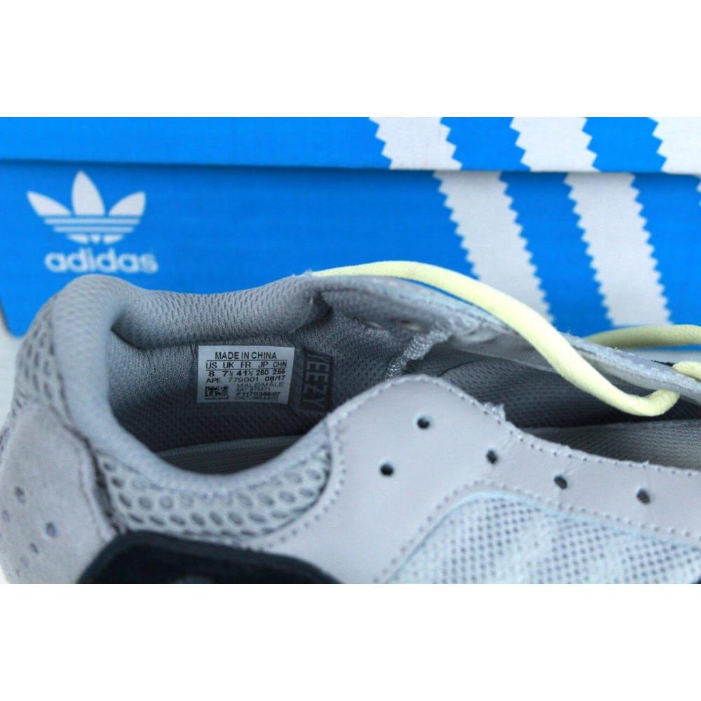 Демисезонные кроссовки мужские   - Яркие кроссовки Adidas Yeezy Wave Runner 700 Solid Grey Chalk 2