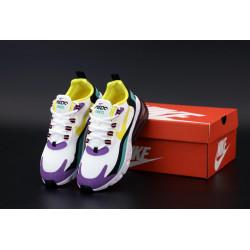 Женские кроссовки Nike Air Max 270 React White Blue Grey Black