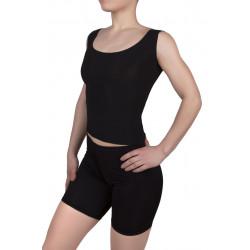 Велотреки взрослые Dance&Sport 6050-1 бифлекс Черный