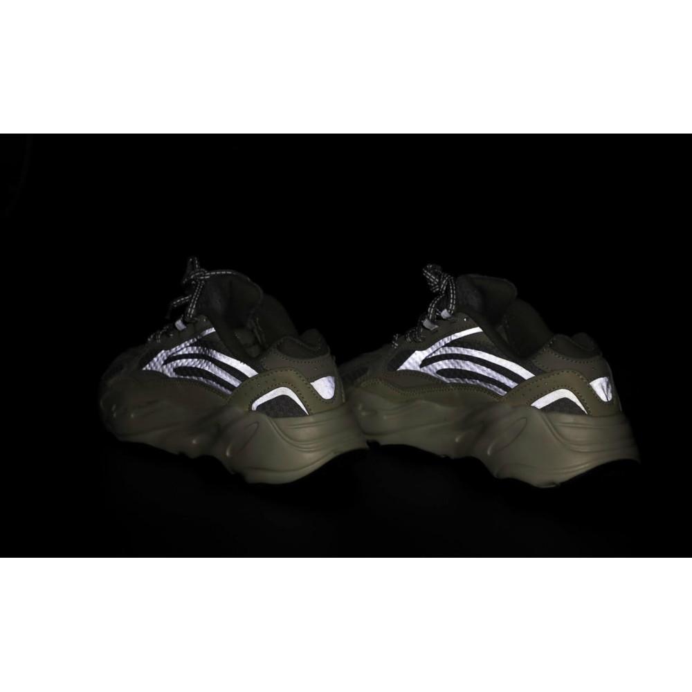Демисезонные кроссовки мужские   - Мужские кроссовки Adidas Yeezy Boost 700 светло-серые 7