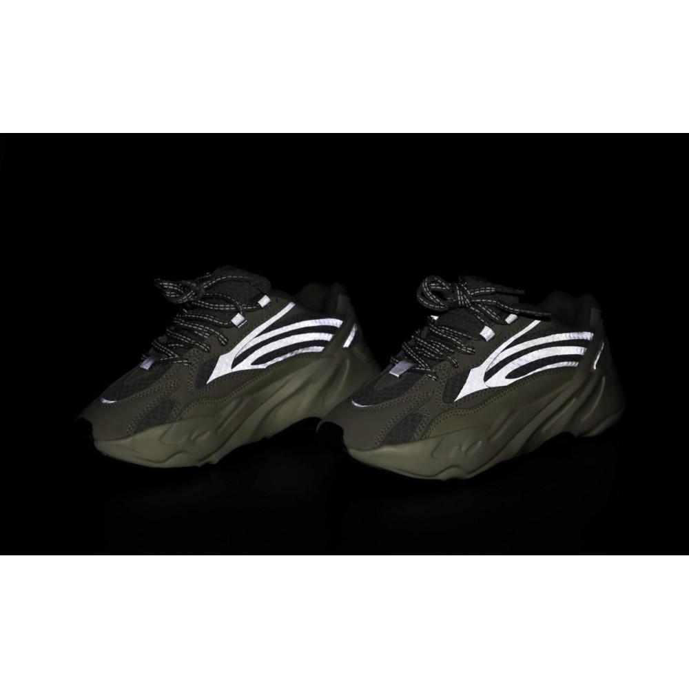 Демисезонные кроссовки мужские   - Мужские кроссовки Adidas Yeezy Boost 700 светло-серые 6