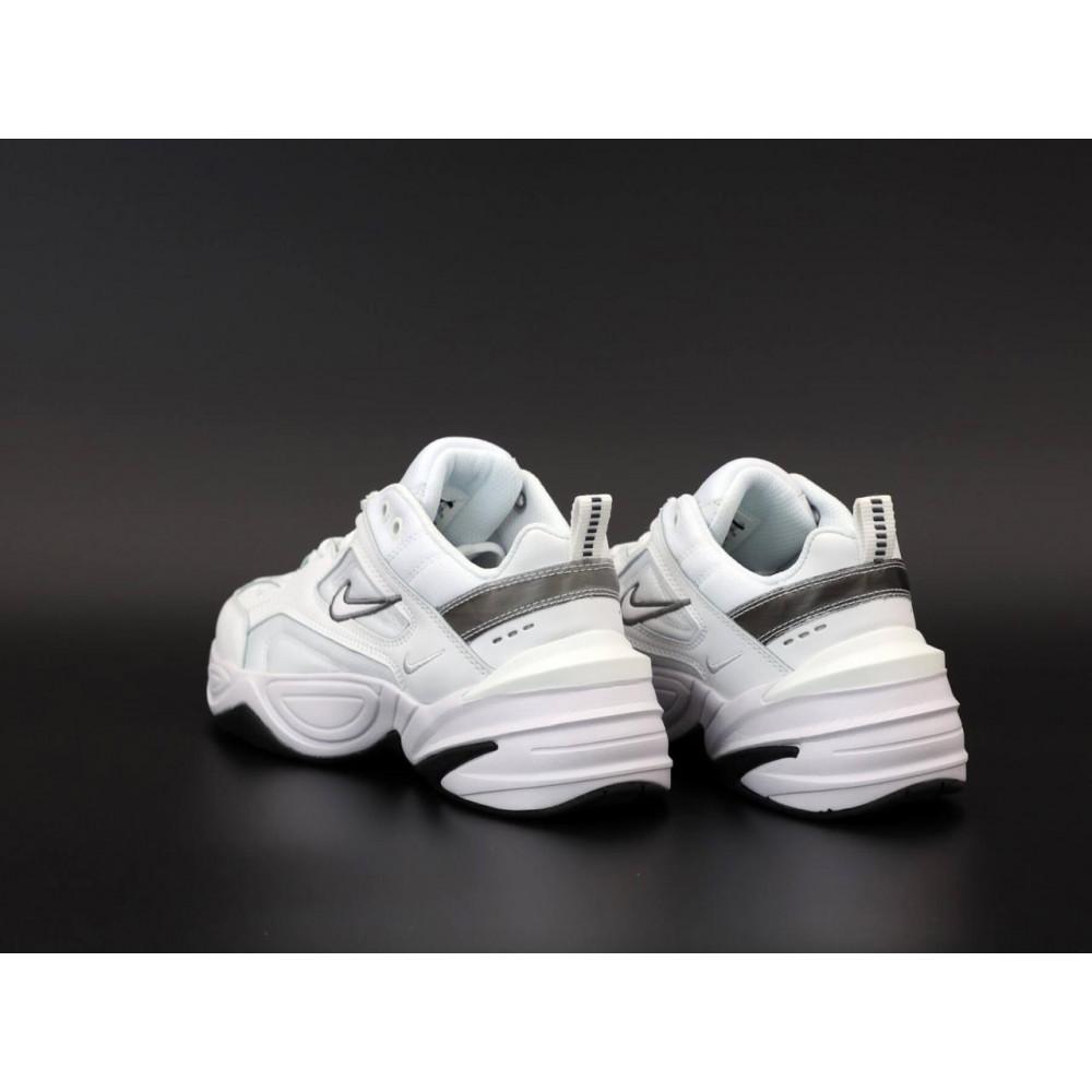 Демисезонные кроссовки мужские   - Мужские белые кроссовки Nike M2K Tekno 4