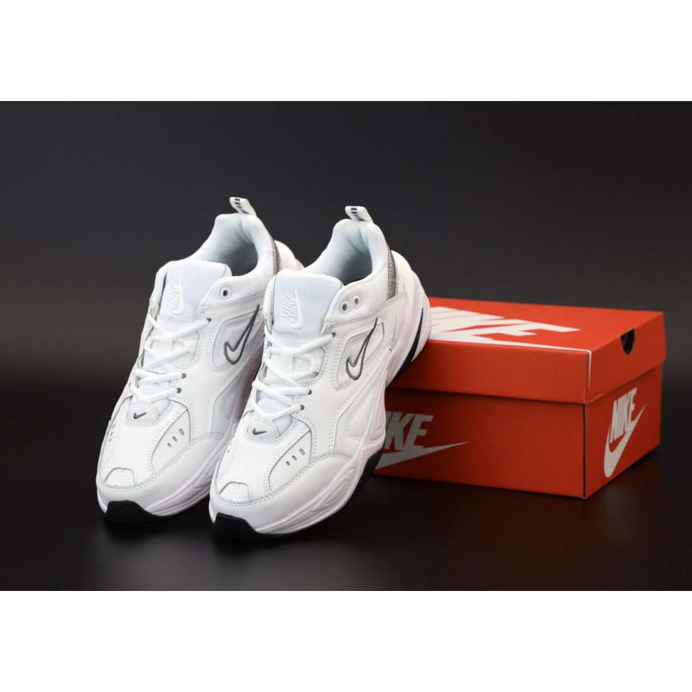 Демисезонные кроссовки мужские   - Мужские белые кроссовки Nike M2K Tekno