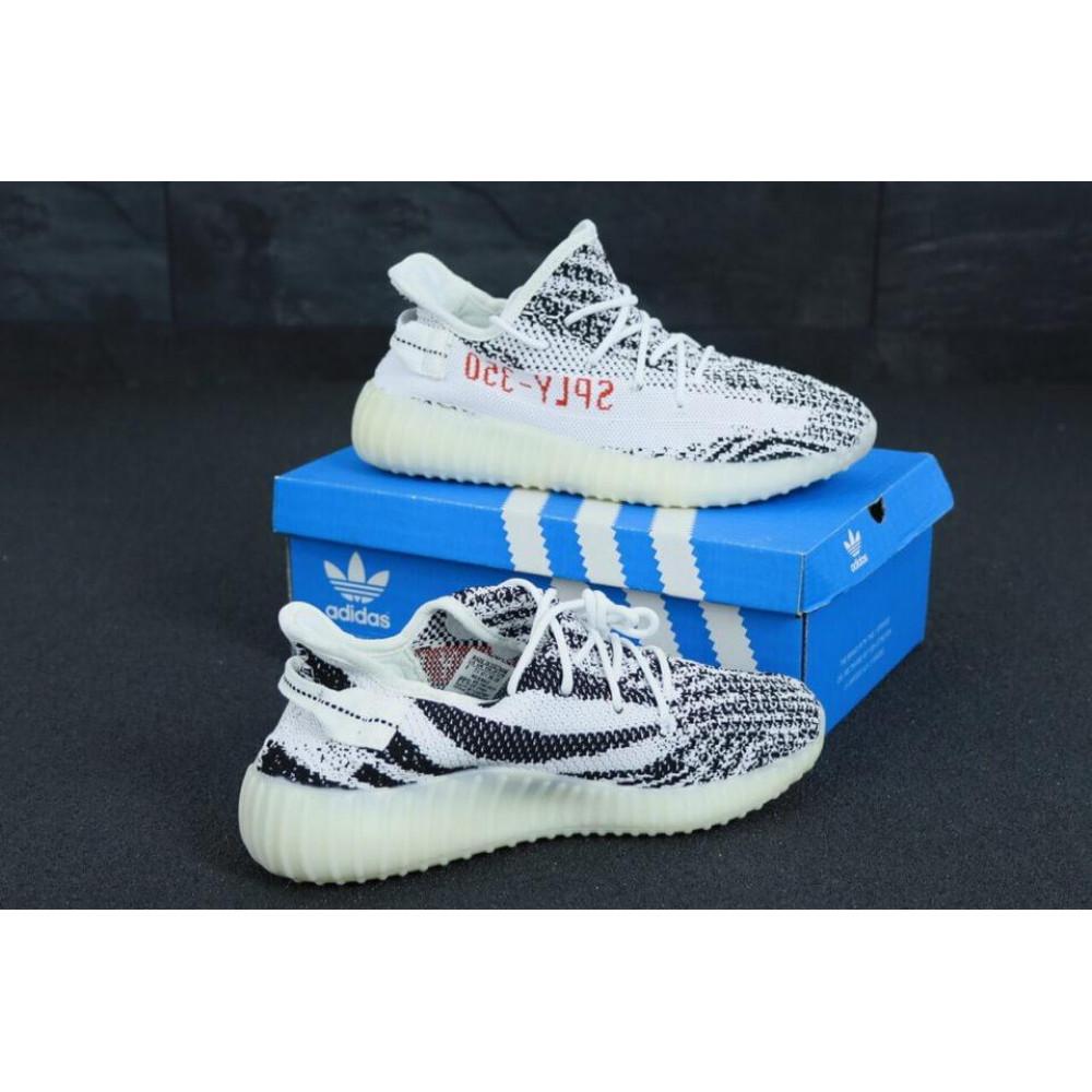 Беговые кроссовки мужские  - Кроссовки Adidas Tubular Shadow Knit Beige 3