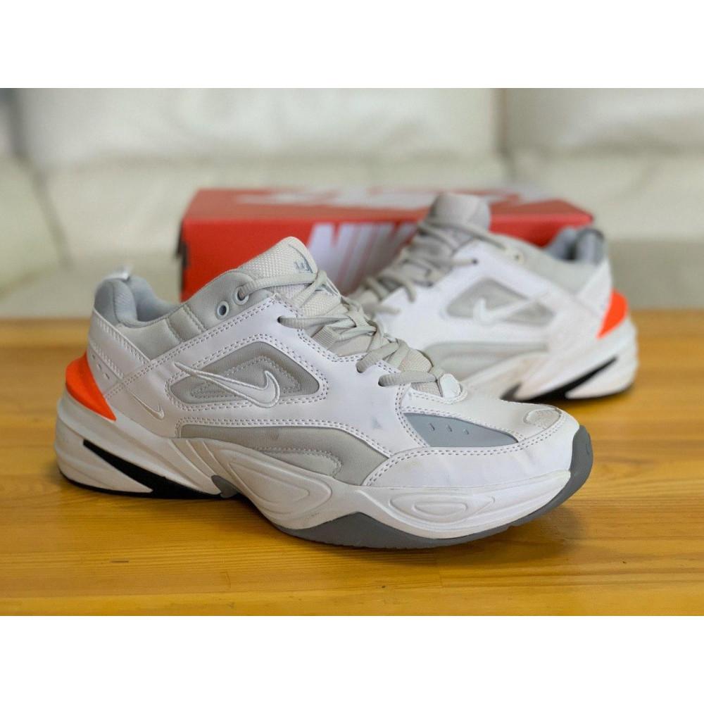 Демисезонные кроссовки мужские   - Кроссовки  натуральная кожа Nike M2K Tekno Найк М2К Текно (42,43,44) 4