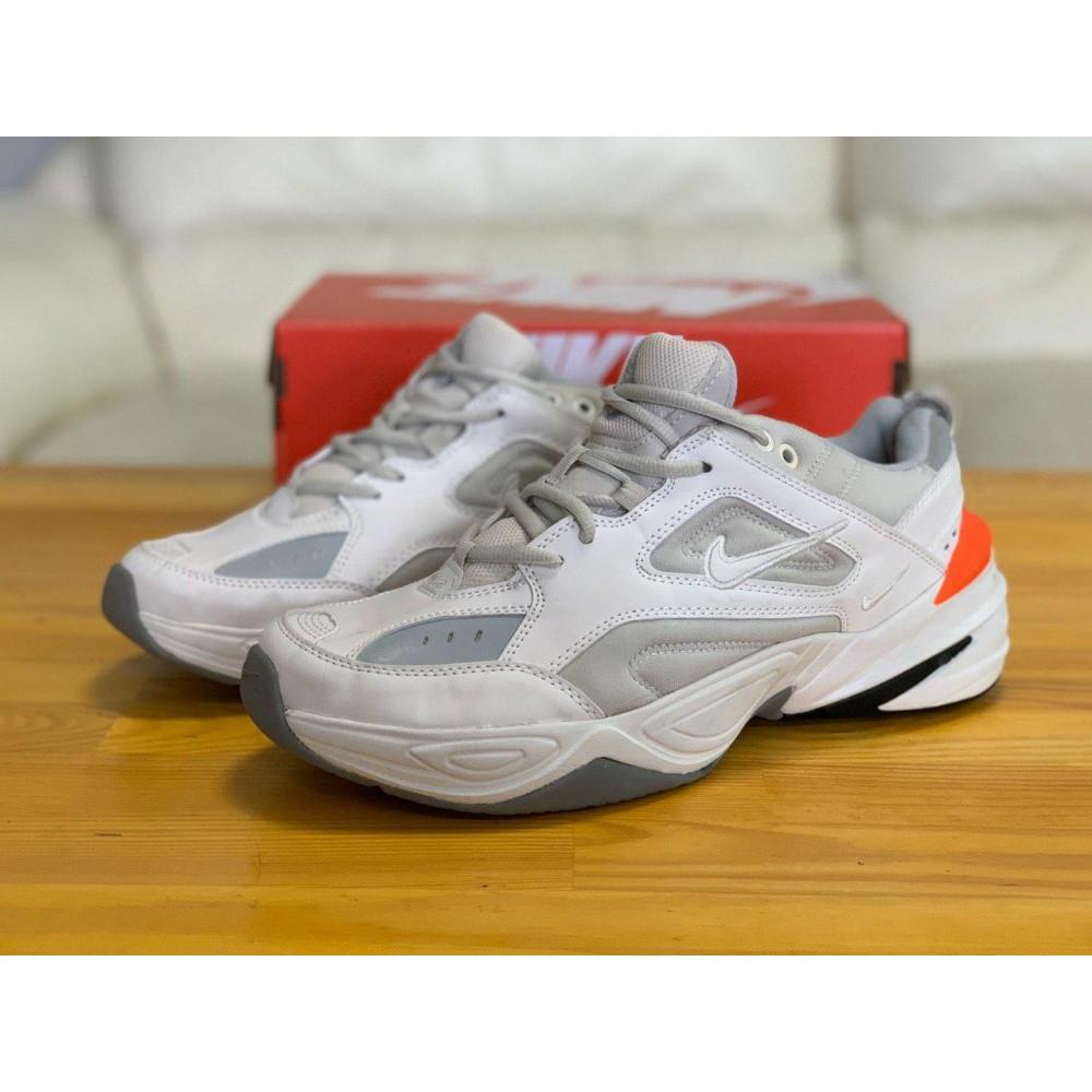 Демисезонные кроссовки мужские   - Кроссовки  натуральная кожа Nike M2K Tekno Найк М2К Текно (42,43,44) 2