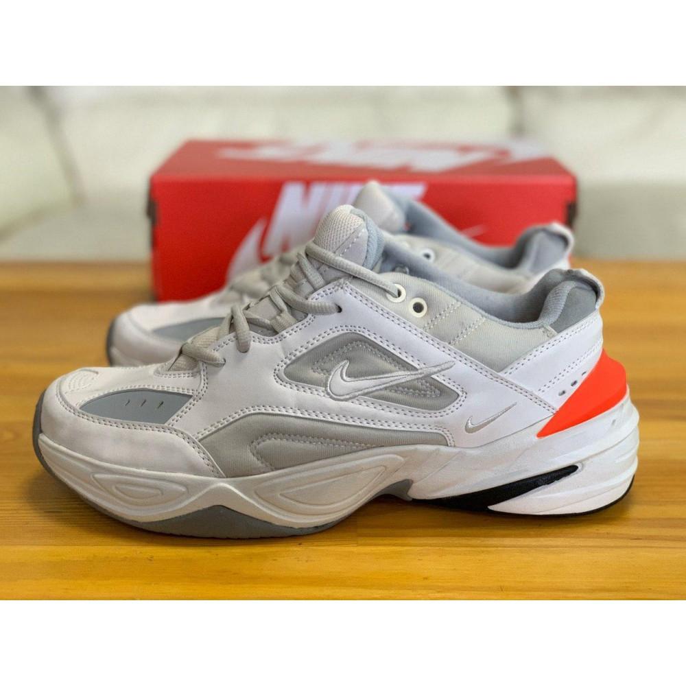 Демисезонные кроссовки мужские   - Кроссовки  натуральная кожа Nike M2K Tekno Найк М2К Текно (42,43,44) 1