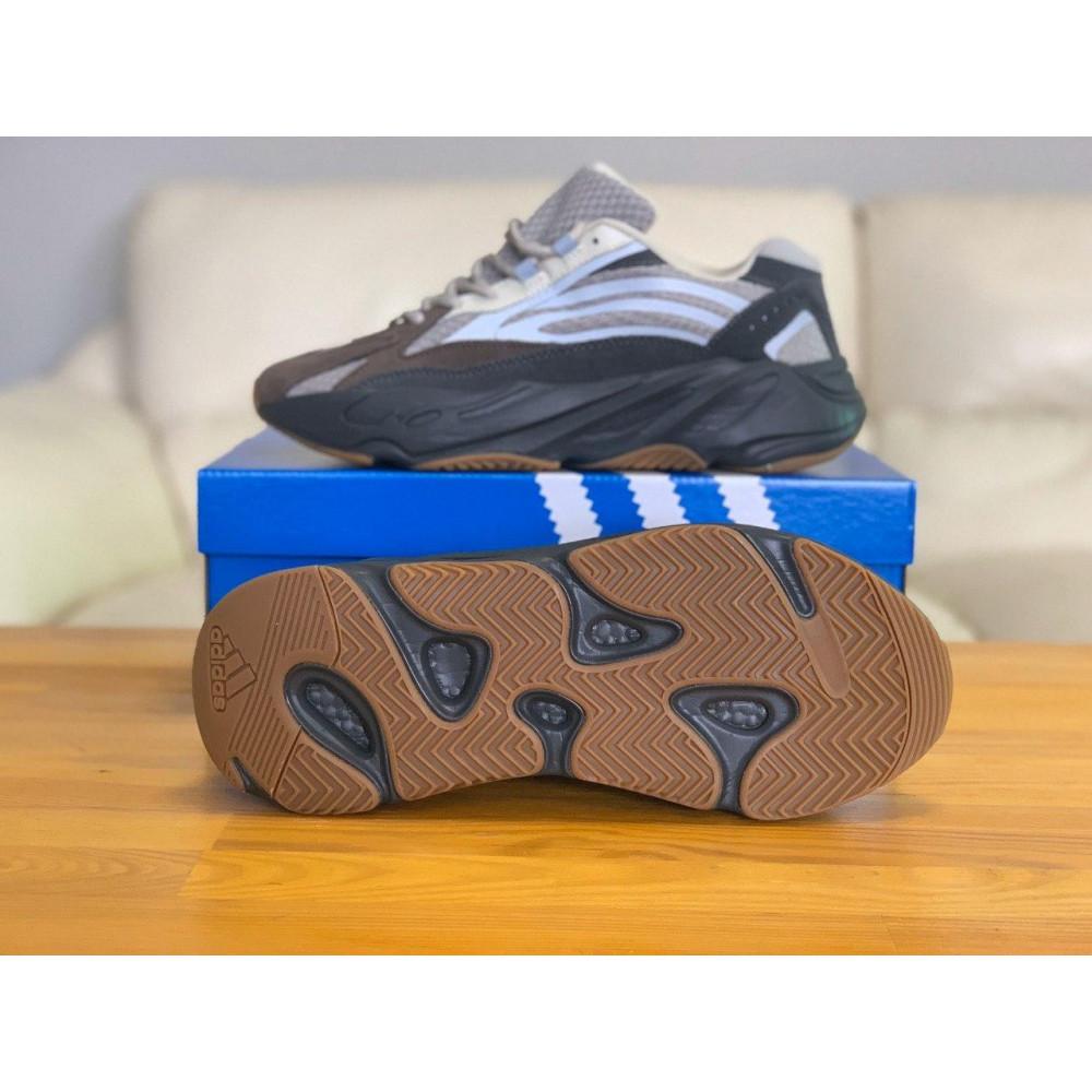 Демисезонные кроссовки мужские   - Кроссовки натуральная кожа Adidas Yeezy Boost 700 Адидас Изи Буст (41,42,43,44,45) 3