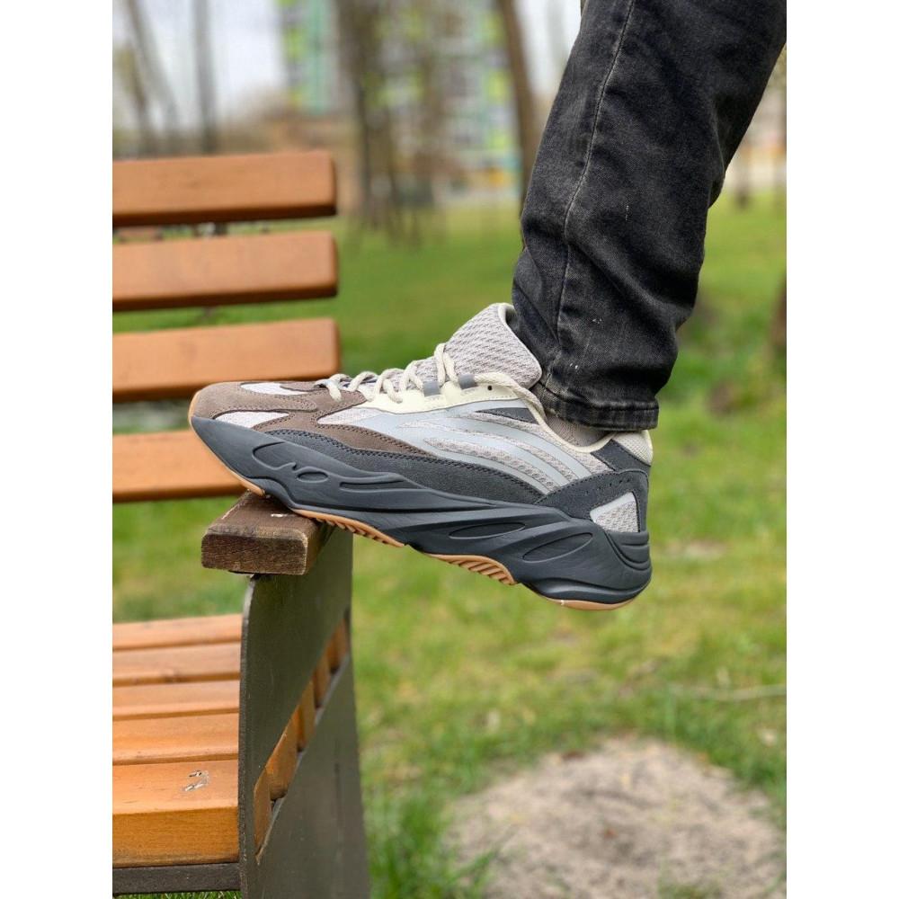 Демисезонные кроссовки мужские   - Кроссовки натуральная кожа Adidas Yeezy Boost 700 Адидас Изи Буст (41,42,43,44,45) 5