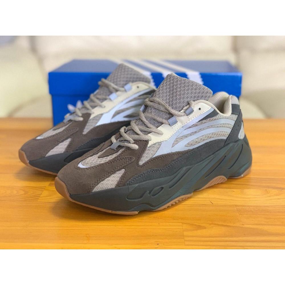 Демисезонные кроссовки мужские   - Кроссовки натуральная кожа Adidas Yeezy Boost 700 Адидас Изи Буст (41,42,43,44,45) 6