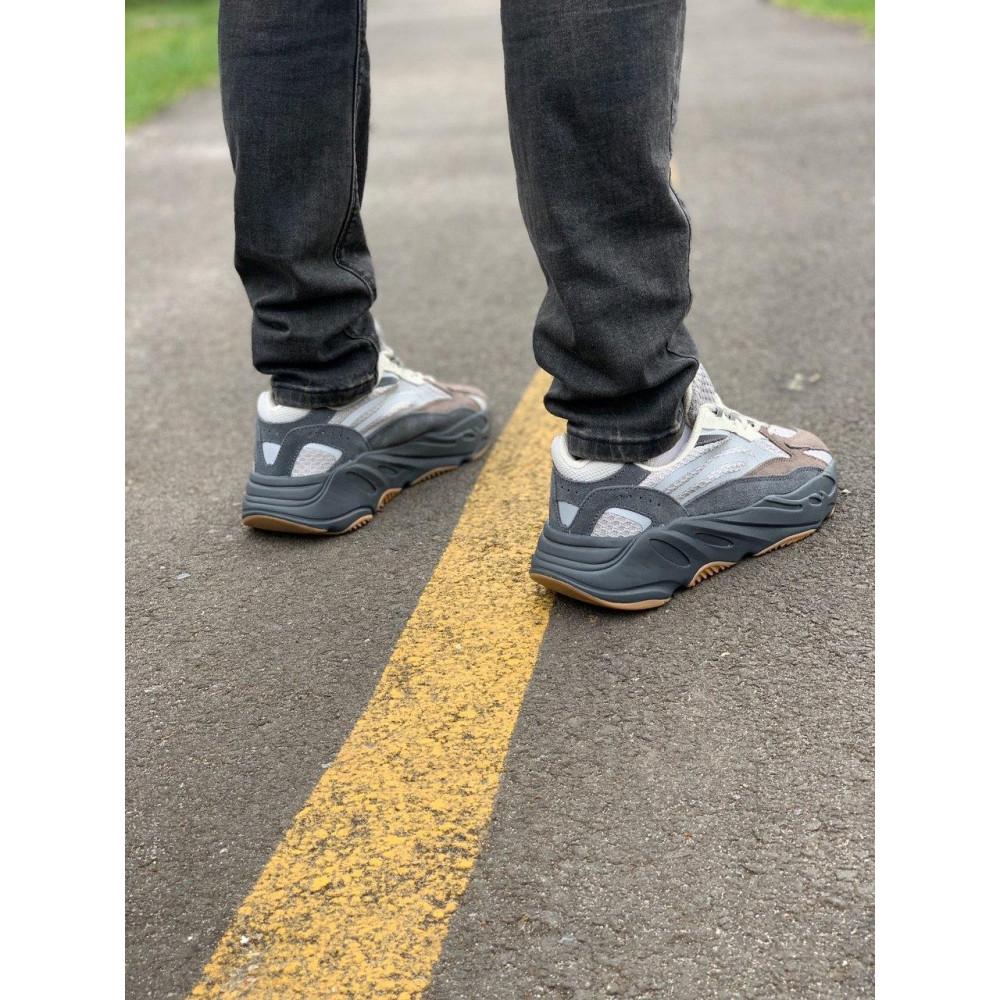 Демисезонные кроссовки мужские   - Кроссовки натуральная кожа Adidas Yeezy Boost 700 Адидас Изи Буст (41,42,43,44,45) 9