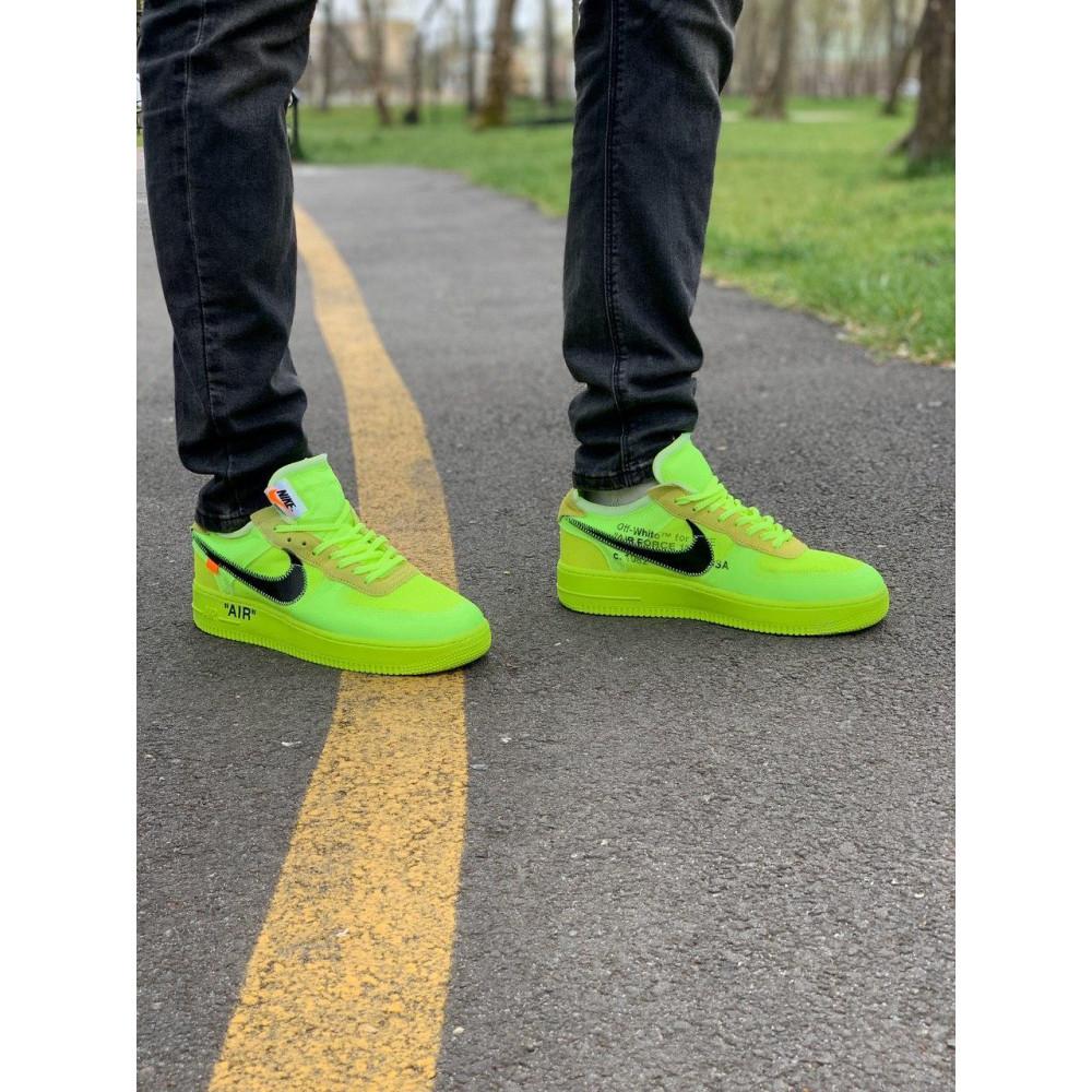 Летние кроссовки мужские - Кроссовки Nike Air Force Off-White Найк Еир Форс Оф Вайт   (41,42,43,44,45) 8
