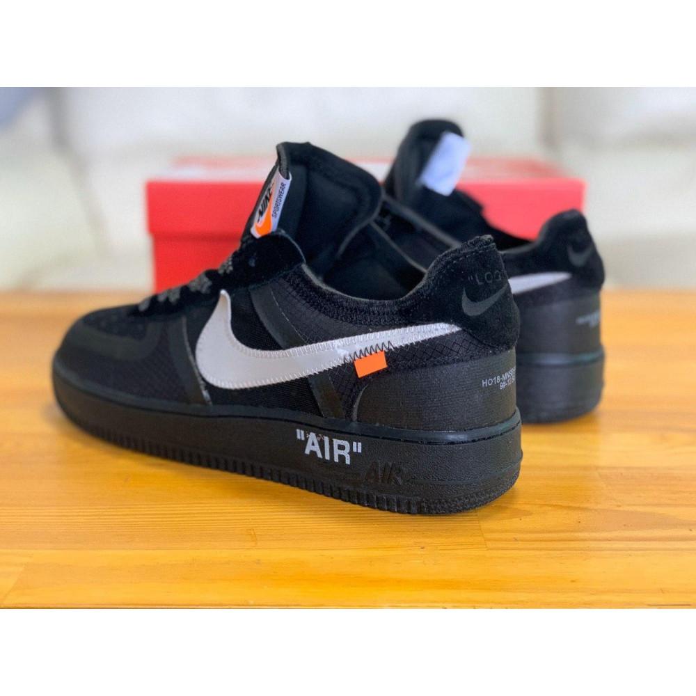 Демисезонные кроссовки мужские   - Кроссовки Nike Air Force Off-White Найк Еир Форс Оф Вайт   (41,42,43,44,45) 7