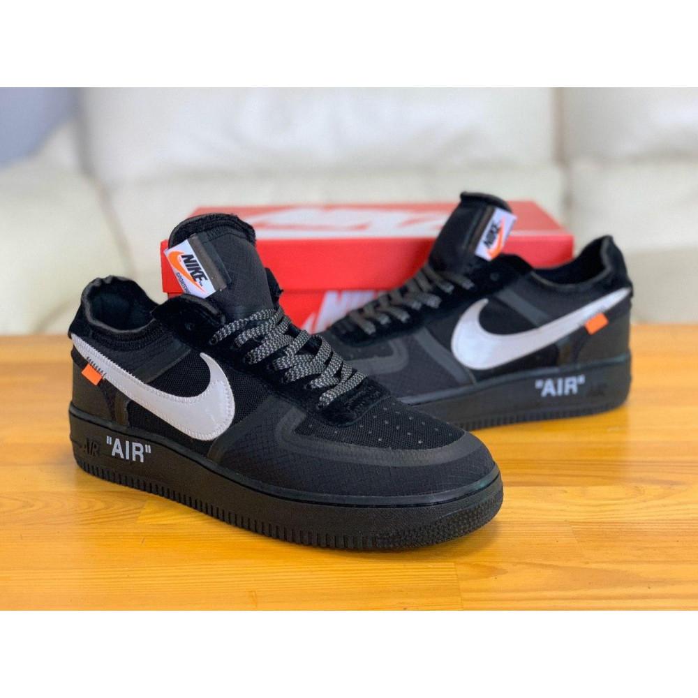 Демисезонные кроссовки мужские   - Кроссовки Nike Air Force Off-White Найк Еир Форс Оф Вайт   (41,42,43,44,45) 8