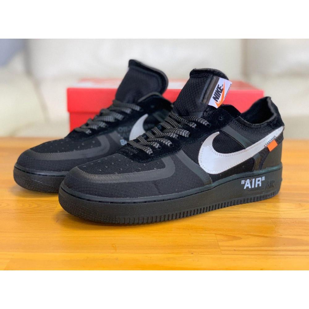 Демисезонные кроссовки мужские   - Кроссовки Nike Air Force Off-White Найк Еир Форс Оф Вайт   (41,42,43,44,45) 5