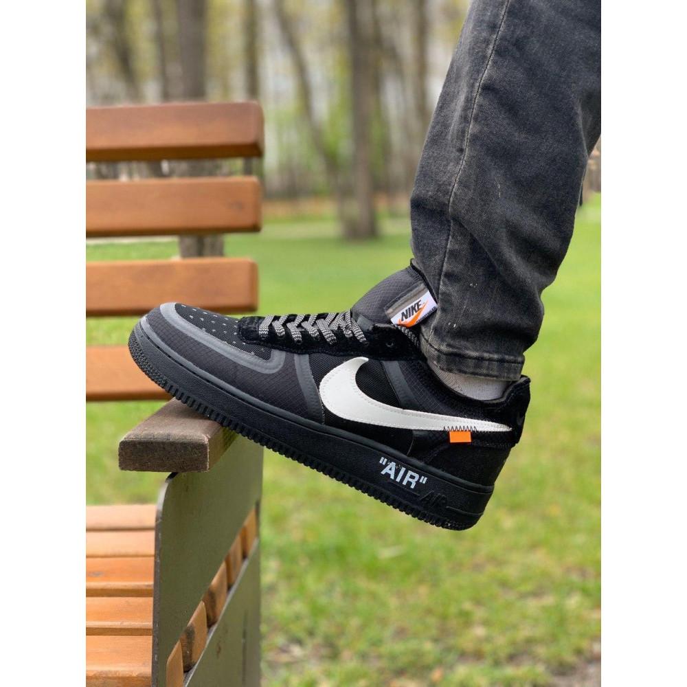 Демисезонные кроссовки мужские   - Кроссовки Nike Air Force Off-White Найк Еир Форс Оф Вайт   (41,42,43,44,45) 2