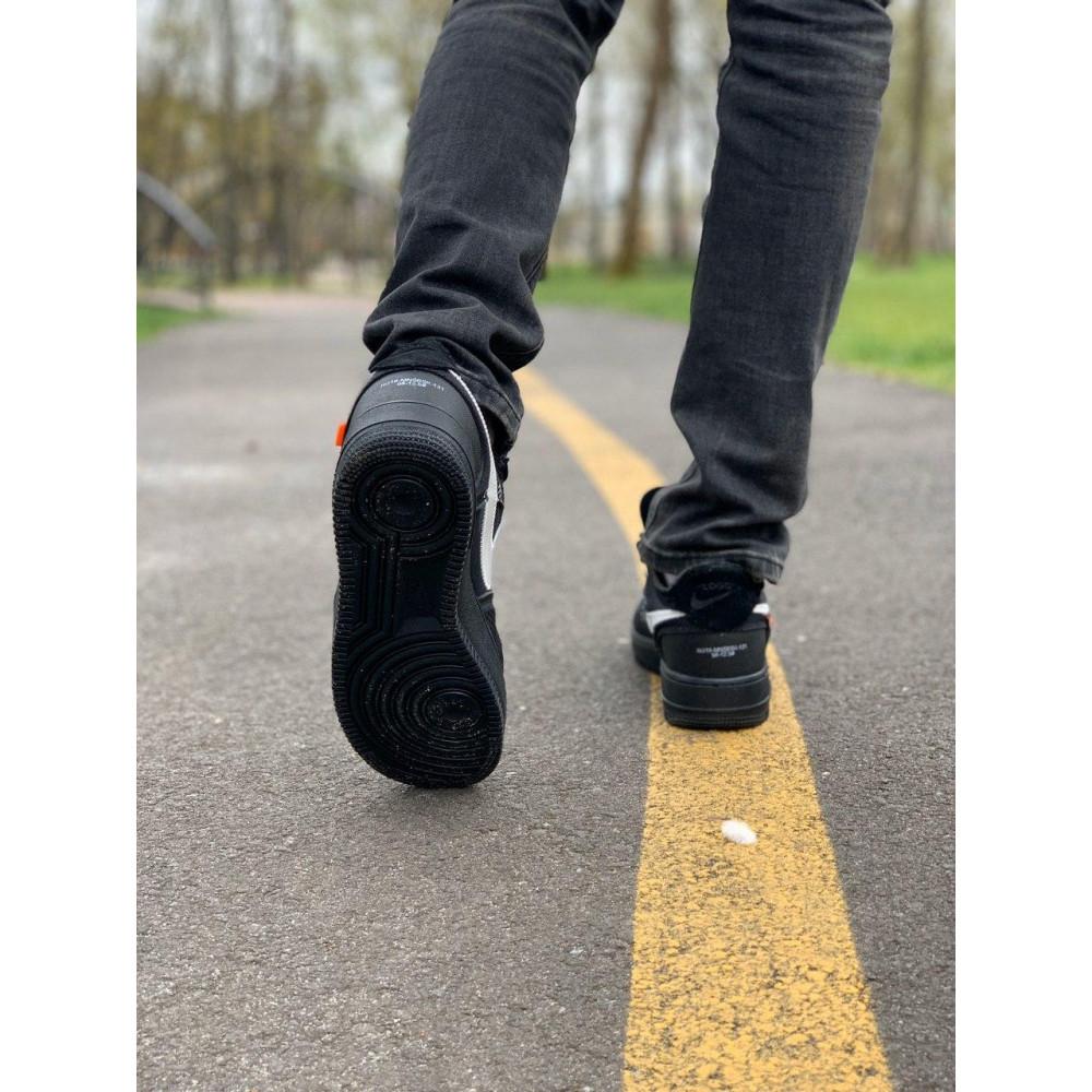 Демисезонные кроссовки мужские   - Кроссовки Nike Air Force Off-White Найк Еир Форс Оф Вайт   (41,42,43,44,45) 1