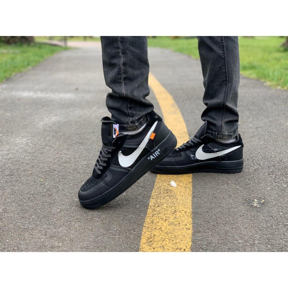 Демисезонные кроссовки мужские   - Кроссовки Nike Air Force Off-White Найк Еир Форс Оф Вайт   (41,42,43,44,45) 9