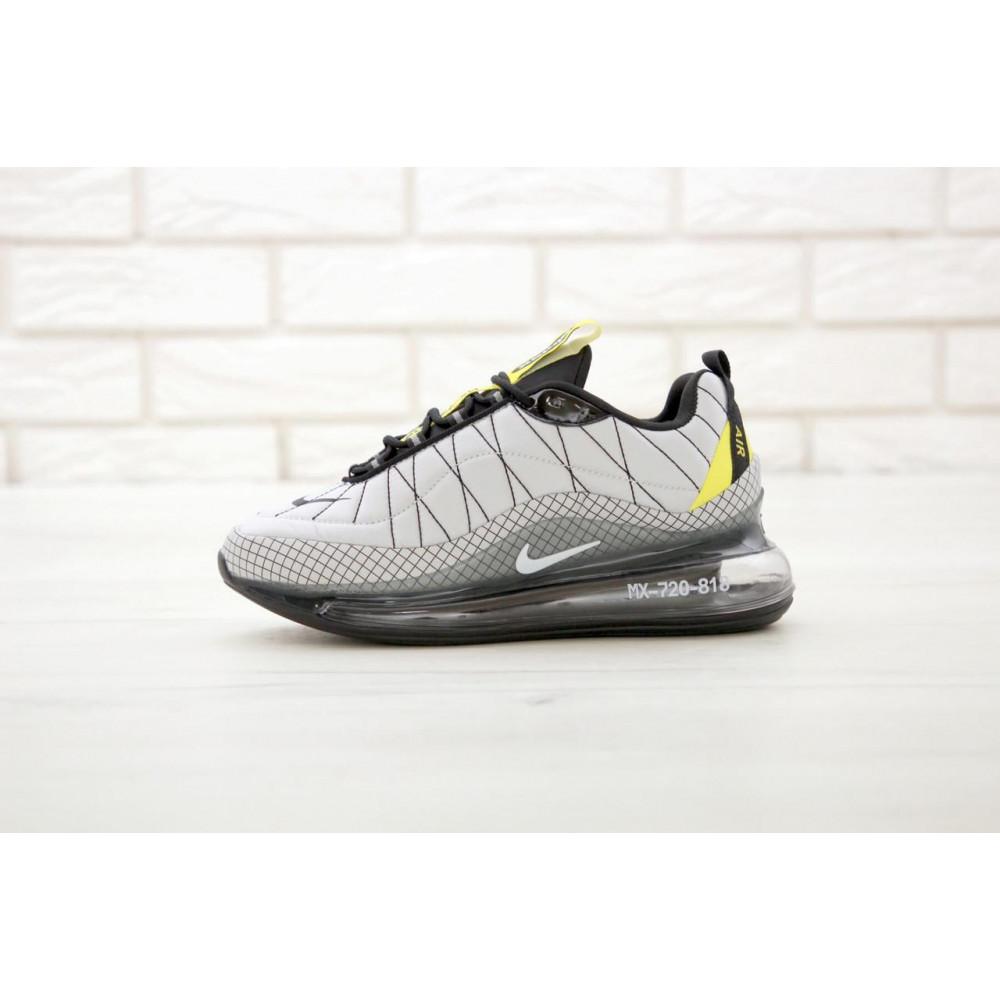 Беговые кроссовки мужские  - Мужские кроссовки Nike Air Max 720 818 в сером цвете 2