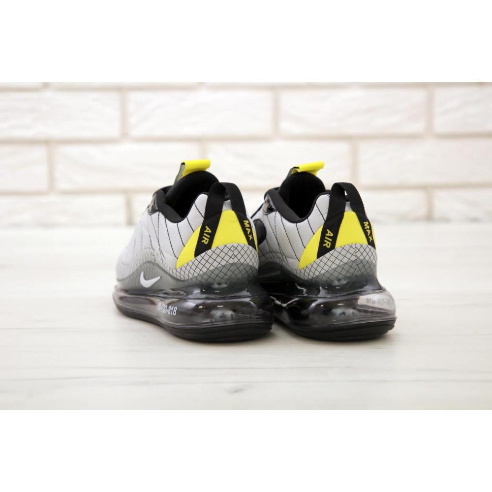 Беговые кроссовки мужские  - Мужские кроссовки Nike Air Max 720 818 в сером цвете 4