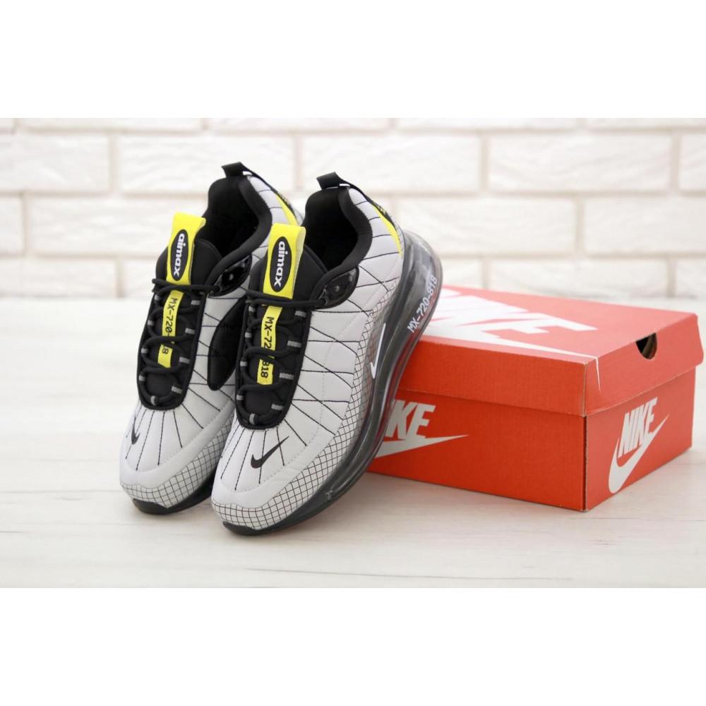 Беговые кроссовки мужские  - Мужские кроссовки Nike Air Max 720 818 в сером цвете