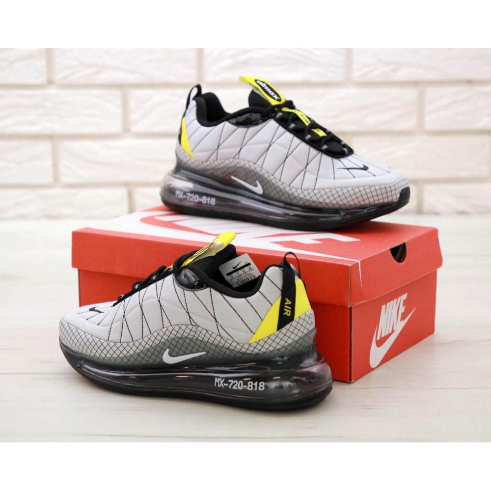 Беговые кроссовки мужские  - Мужские кроссовки Nike Air Max 720 818 в сером цвете 5