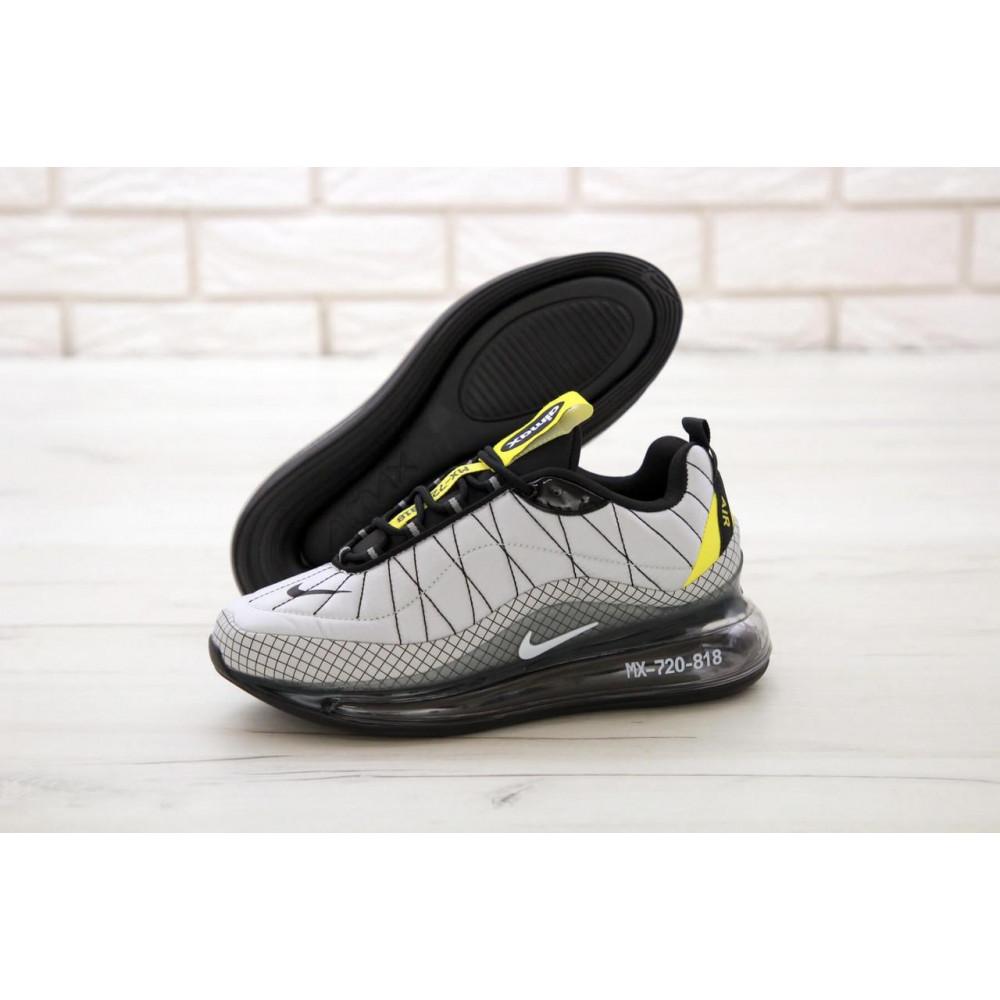 Беговые кроссовки мужские  - Мужские кроссовки Nike Air Max 720 818 в сером цвете 1