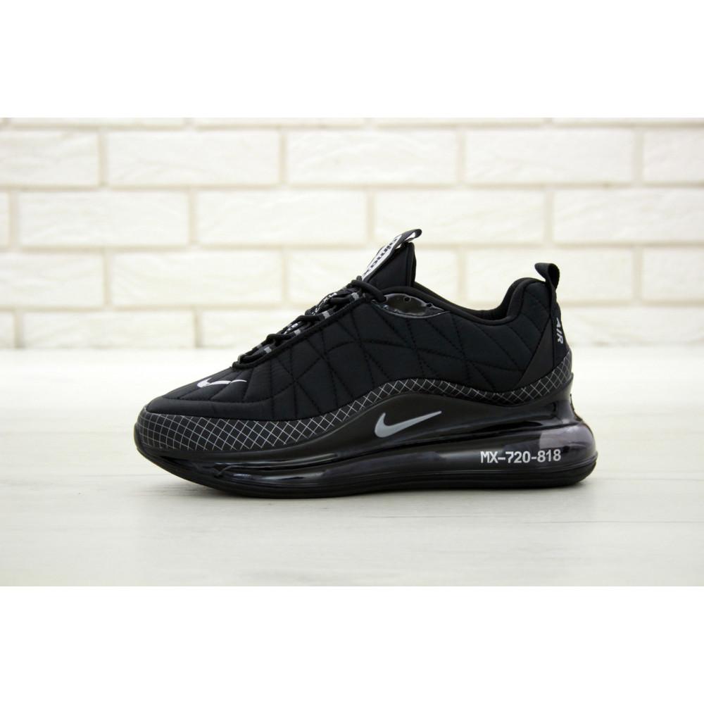 Демисезонные кроссовки мужские   - Кроссовки Nike Air Max 720 818 в черном цвете 1