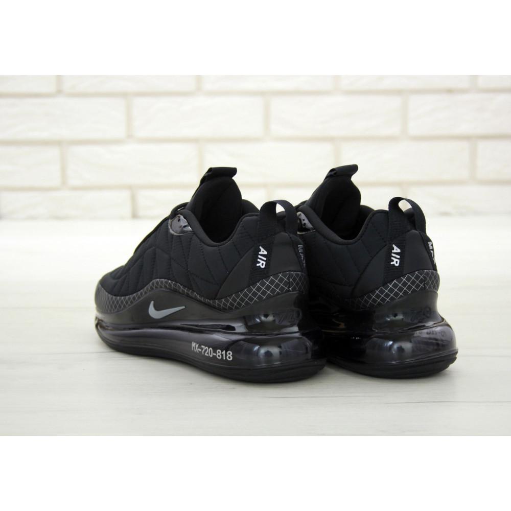 Демисезонные кроссовки мужские   - Кроссовки Nike Air Max 720 818 в черном цвете 5