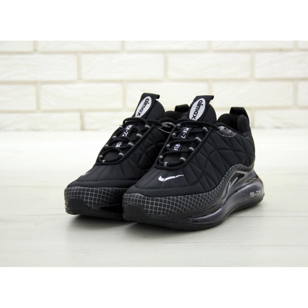 Демисезонные кроссовки мужские   - Кроссовки Nike Air Max 720 818 в черном цвете 3