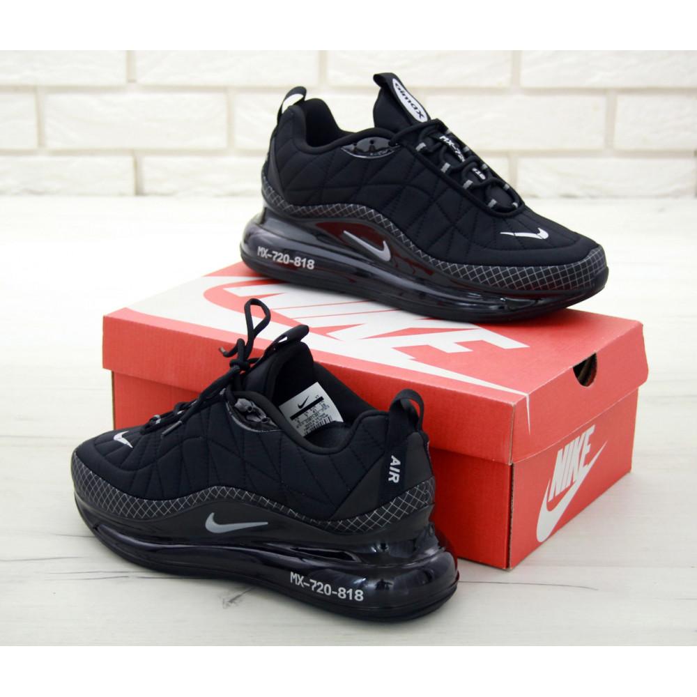Демисезонные кроссовки мужские   - Кроссовки Nike Air Max 720 818 в черном цвете 4