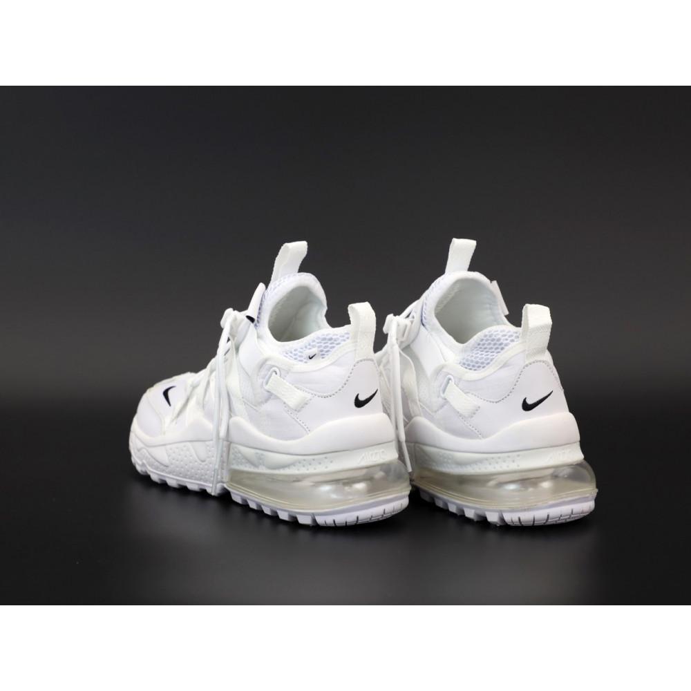 Демисезонные кроссовки мужские   - Кроссовки Nike Air Max 270 Bowfin белого цвета 3