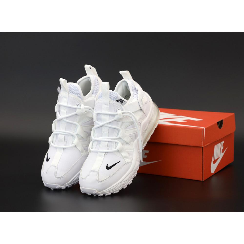 Демисезонные кроссовки мужские   - Кроссовки Nike Air Max 270 Bowfin белого цвета