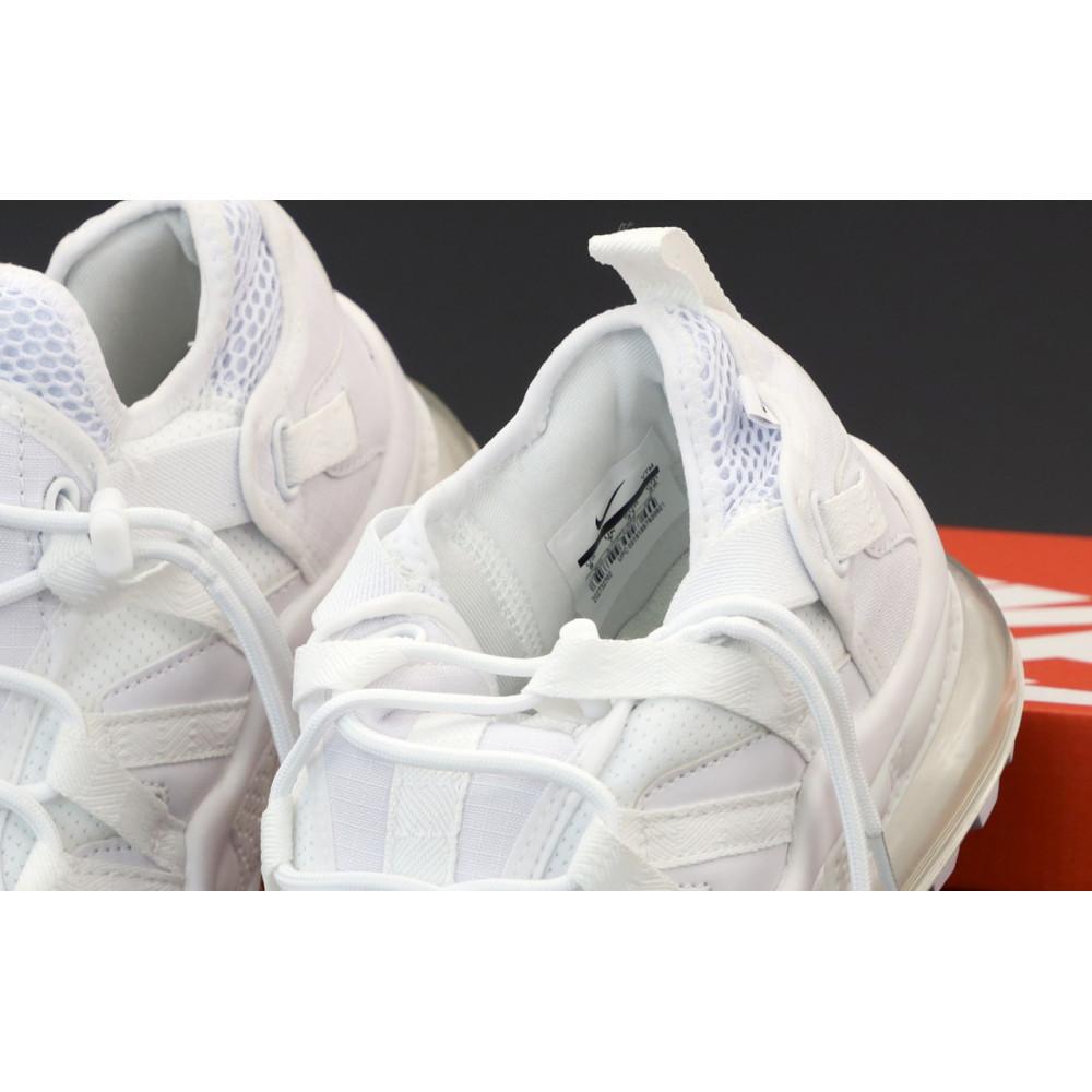 Демисезонные кроссовки мужские   - Кроссовки Nike Air Max 270 Bowfin белого цвета 4
