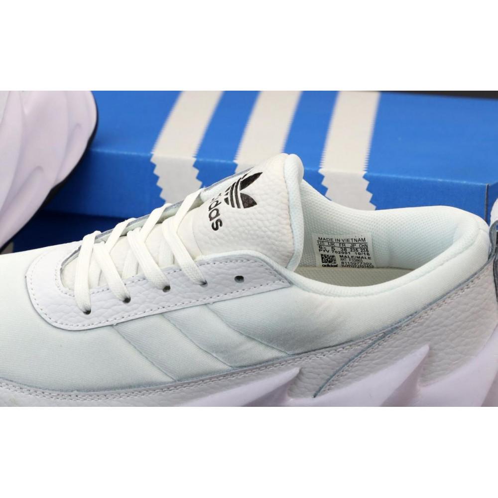 Беговые кроссовки мужские  - Кроссовки Adidas Sharks Triple Black 3