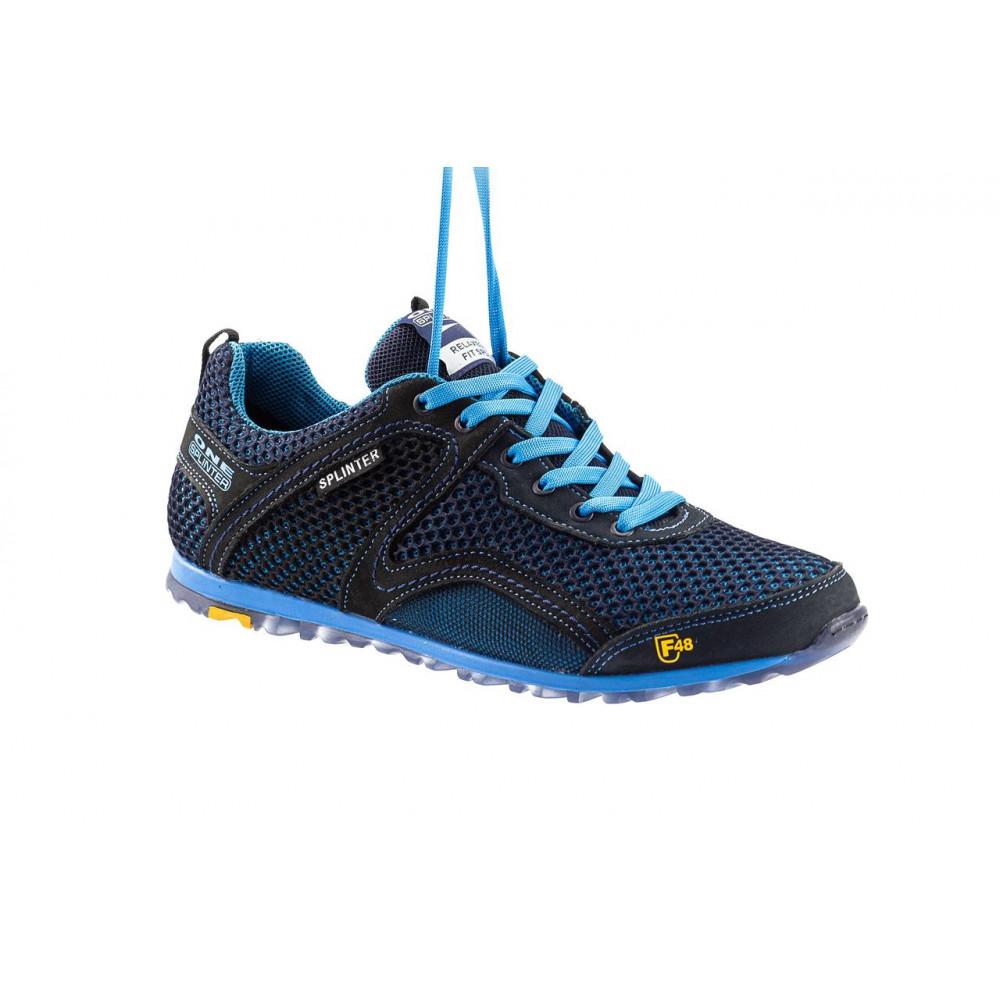 Кроссовки - Мужские кроссовки текстильные летние синие-черные Splinter Relaxed 3715