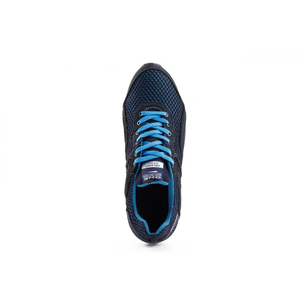 Кроссовки - Мужские кроссовки текстильные летние синие-черные Splinter Relaxed 3715 6