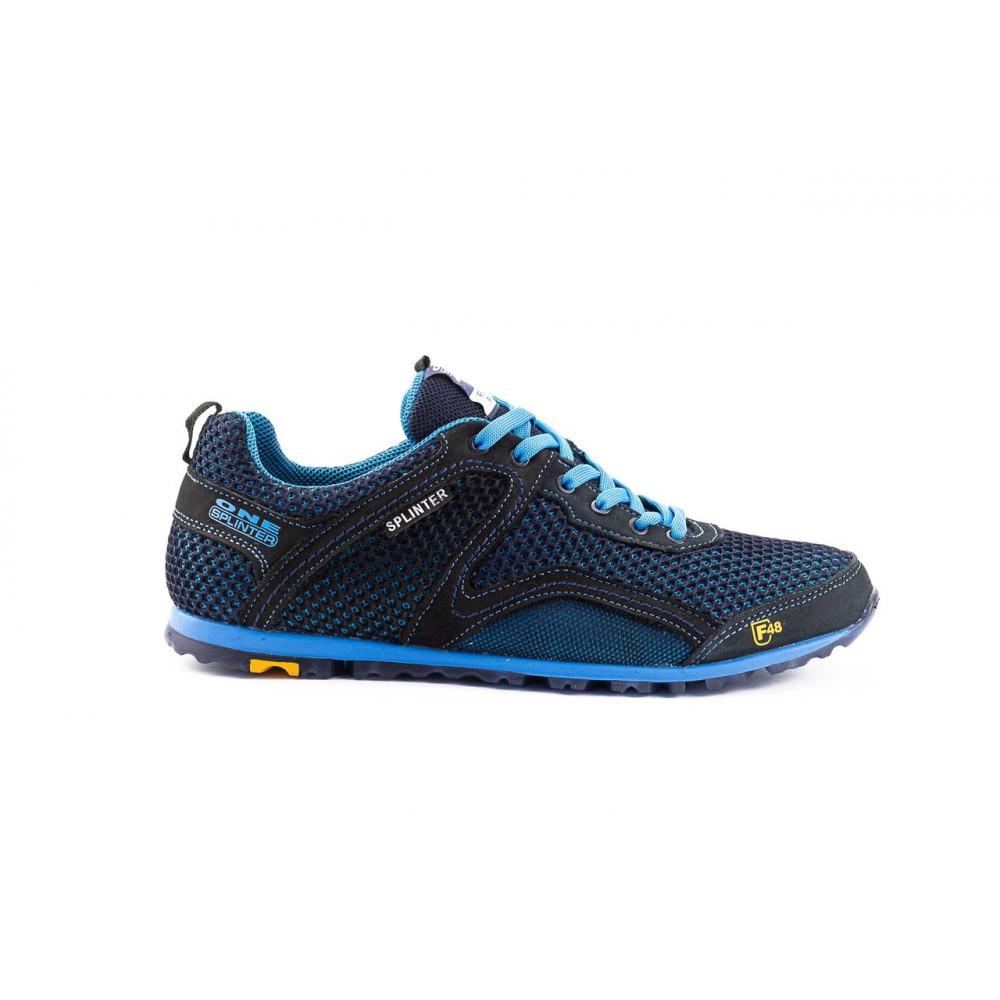 Кроссовки - Мужские кроссовки текстильные летние синие-черные Splinter Relaxed 3715 4