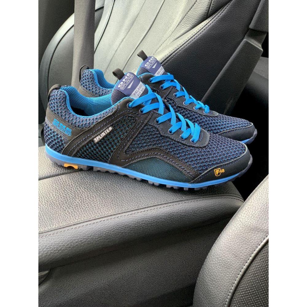 Кроссовки - Мужские кроссовки текстильные летние синие-черные Splinter Relaxed 3715 8