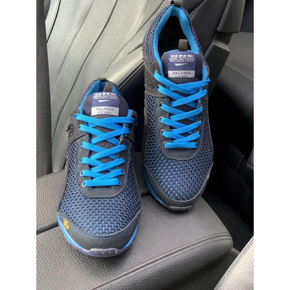 Кроссовки - Мужские кроссовки текстильные летние синие-черные Splinter Relaxed 3715 7
